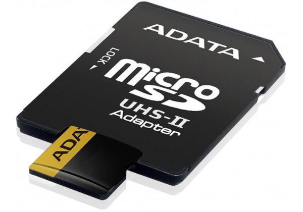 ADATA Premier ONE Micro SDXC 64GB USH-II U3 ??Class 10 + SD adaptér