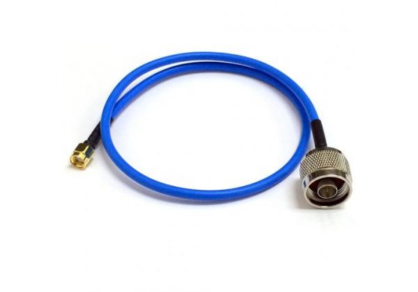 VF kábel, 1m, RF240, max. 6GH, N-Male/rSMA-Male