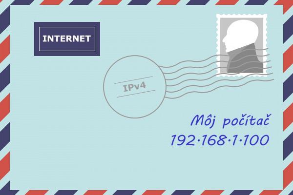 IP adresa: Tam, kde býva počítač